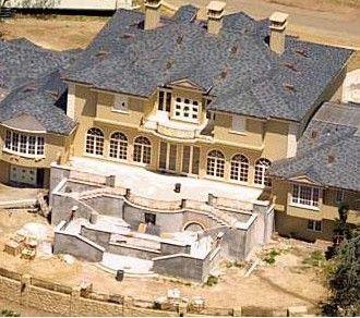 Televizyon yıldızı Oprah Winfrey'in evi.